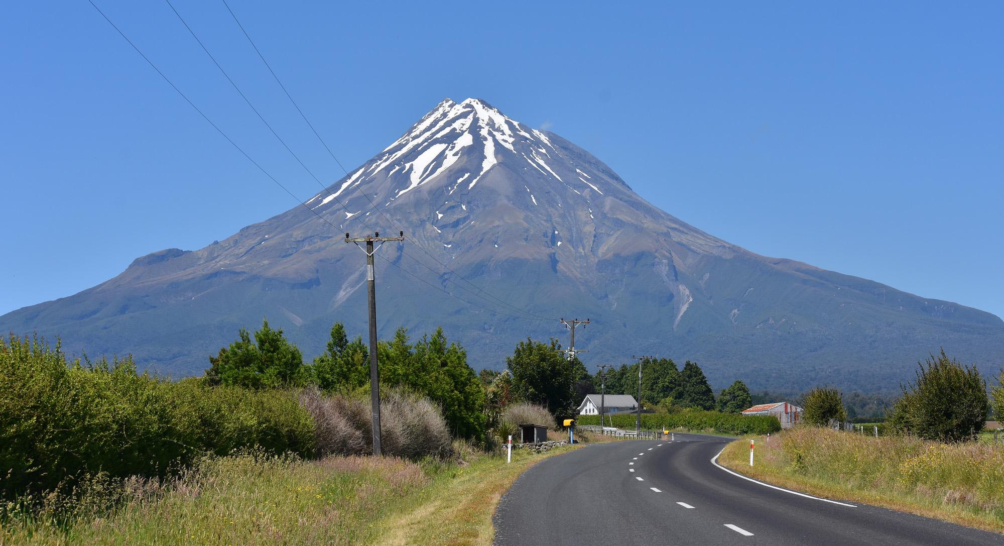 Mount Egmont in Taranaki